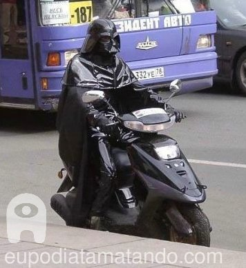 Scooter do Darth Vader