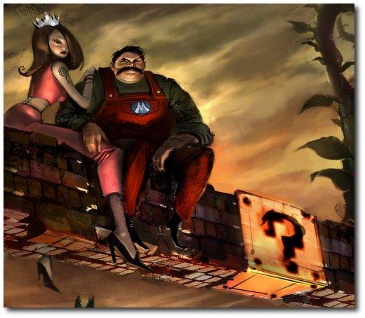 Pintura do Mario