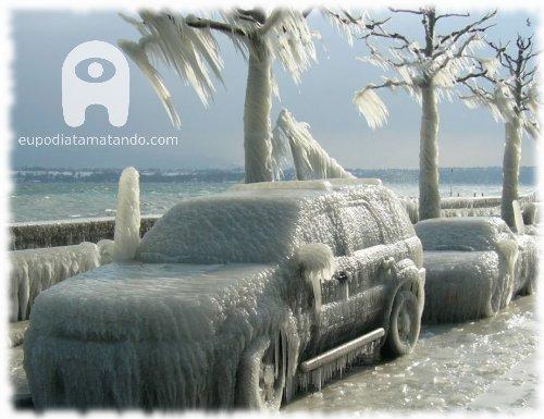 carro congelado