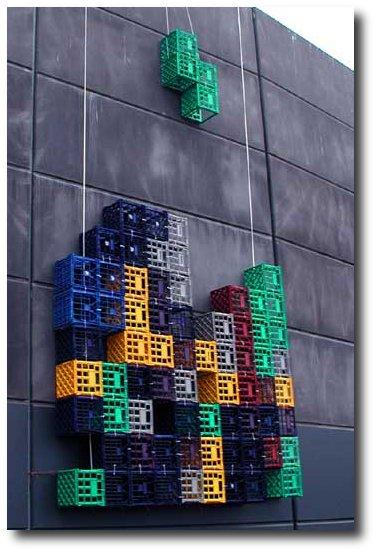 Tetris caixas de feira miniatura