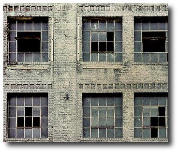 Tetris nas vidraças miniatura
