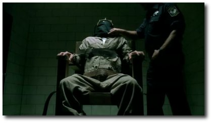 Prison Break, Burrows na cadeira elétrica