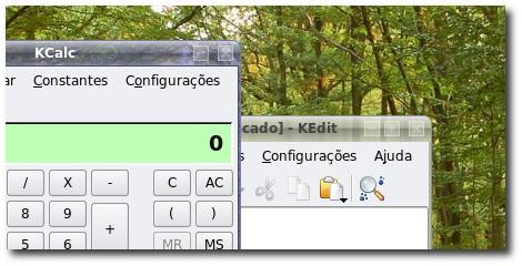 Botões para o Crystal no KDE