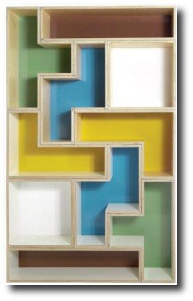 Prateleira Tetris