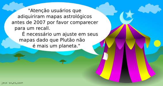 Tirinha - Recall de Mapas Astrológicos