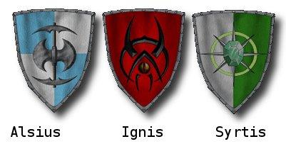 Os três reinos do Regnum