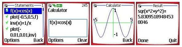 Ploter para celular plotadora pare celular plotador de função para celular Calculator
