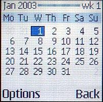 Calendario do 3100