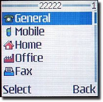 Tela do Nokia 3100 em ação (2)