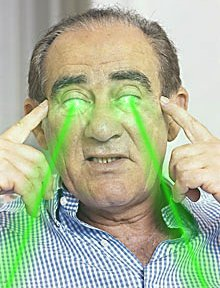 Renato Aragão With Lasers