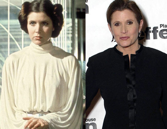 Carrie Fisher (Princess Leia)
