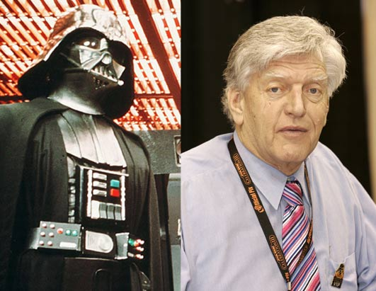 David Prowse (corpo do Darth Vader)