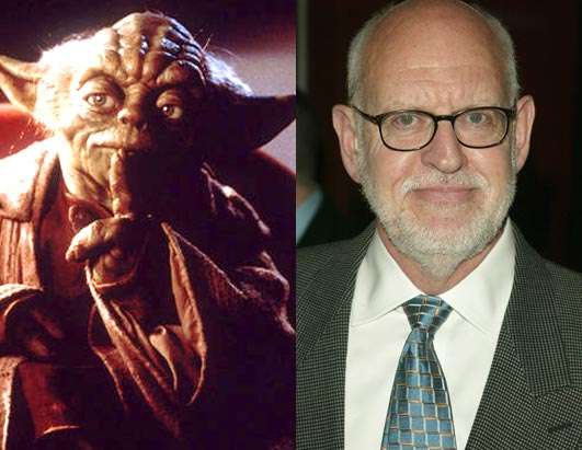 Frank Oz (voz do Mestre Yoda)