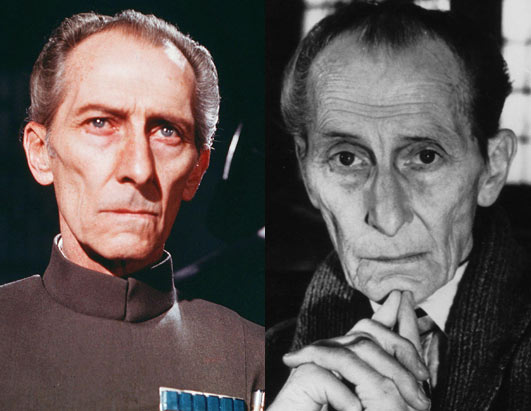 Peter Cushing (Grand Moff Tarkin)