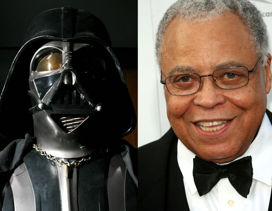 James Earle Jones (voz de Darth Vader)