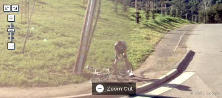 Bicicleta toda empenada