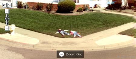 Deitados no chão
