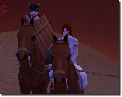 eu e a deborah de cavalo