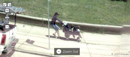 imagens engraçadas do Google Street view google maps