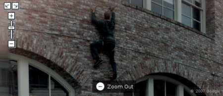 homem aranha spider man on google maps google street view