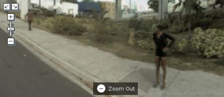 Google Maps Street view, mini saia?