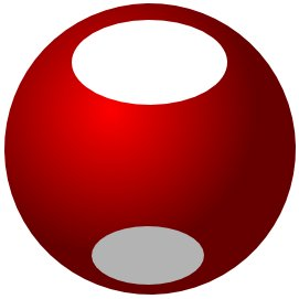 Inkscape bola elipse branca ball white elipse