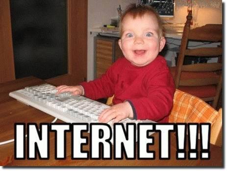 Todo mundo adora internet