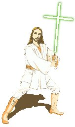 Jesus jedi star wars joke