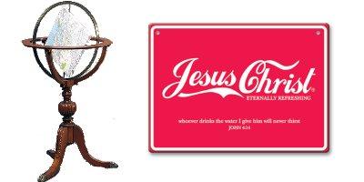 Jesus Terra chata coca cola