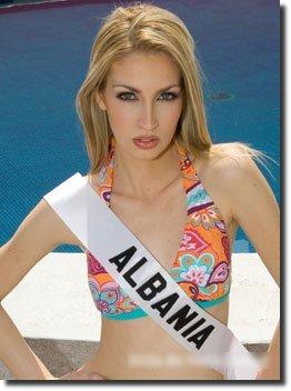 Miss Albânia 2007 Sadina Alla
