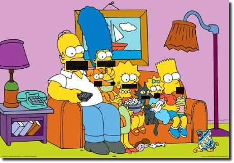 Simpsons censurados