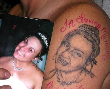 Tatuagem feia ugly tattoo