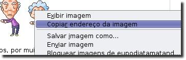 Cópiar endereço da imagem