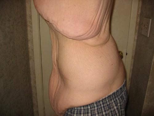 David Smith encolhe a barriga