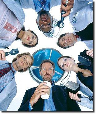 Doutor house e equipe