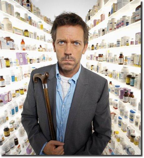 House e os remédios
