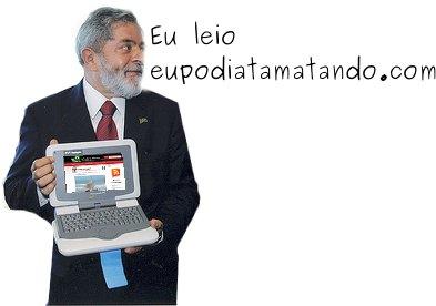 Lula  laptop computador eptm