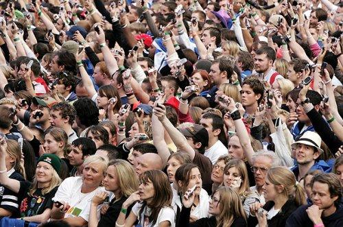 multidão celular