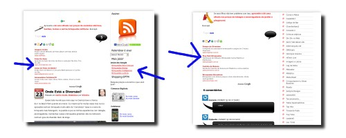 posicionamento de anuncios no EPTM
