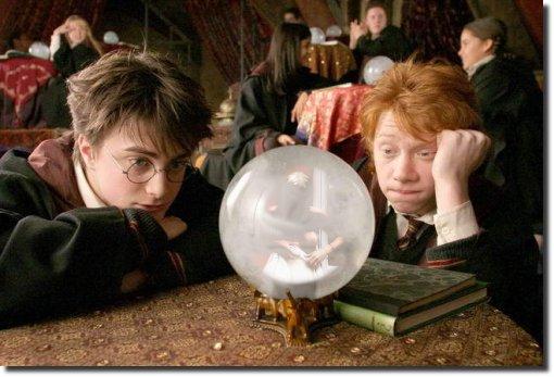 Harry Potter bola de cristal mulher nua