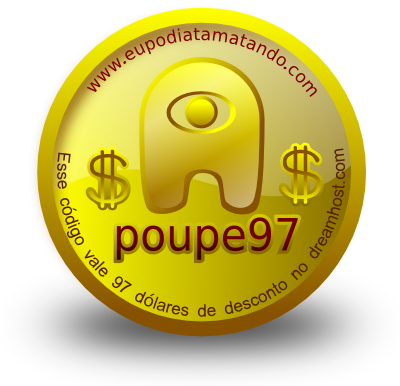 Moeda do eupodiatamatando com promocode do dreamhost de 97 dólares