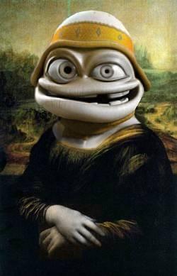 monalisa crazy frog