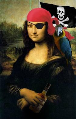 monalisa pirata marujo