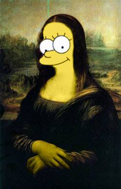 Mona lisa simpsons