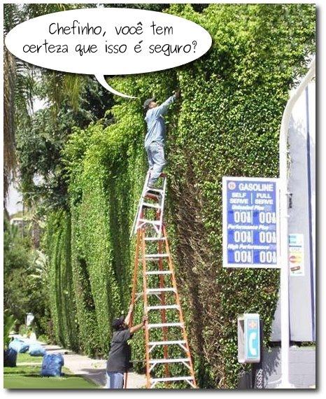 Aparador de plantas altas