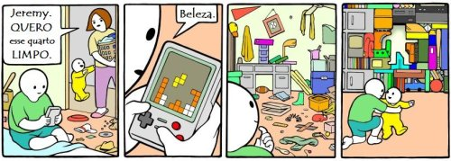 Perry Bible Fellowship em português, tetris