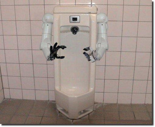 Urinol robotico
