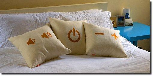 travesseiros controle remoto