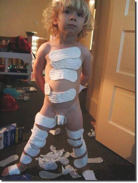 o que aconteceu com os absorventes da mamãe