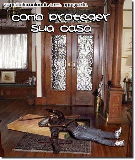 Como proteger sua casa, uma ratoeira gigante